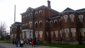 Photo of  Jane's Walk at Century Manor May 7,2016